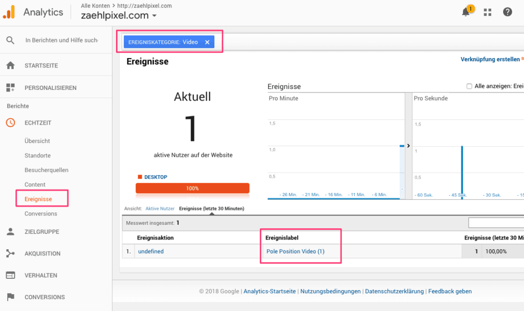 Basics: Klicktracking mit dem Google Tag Manager 8