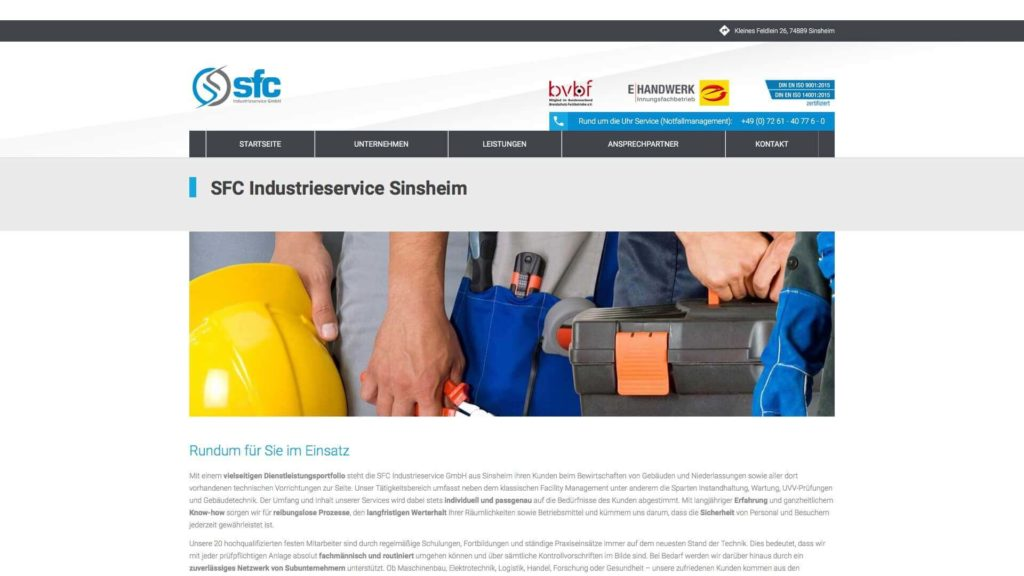 Rundum_für_Sie_im_Einsatz_-_SFC_Industrieservice