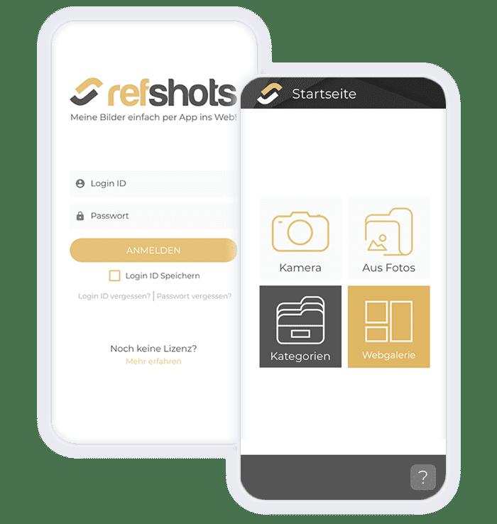Bildgalerie-Verwaltung per App 3
