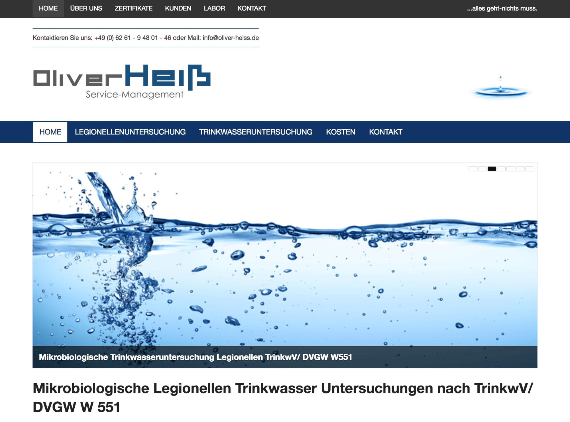 Oliver Heiss Servicemanagement