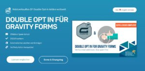 "WordPress Plugin ""Double Opt in for Gravity Forms"""